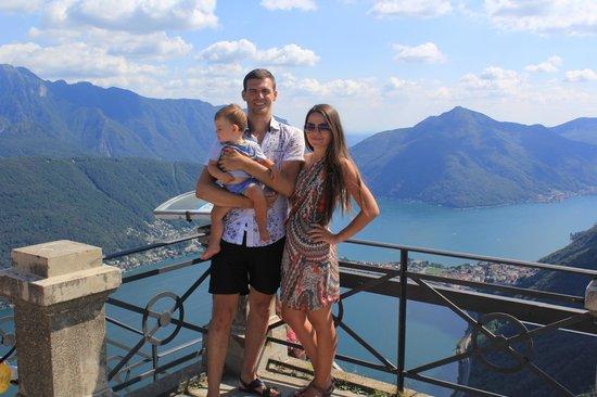 Monte San Salvatore: Самая высокая точка
