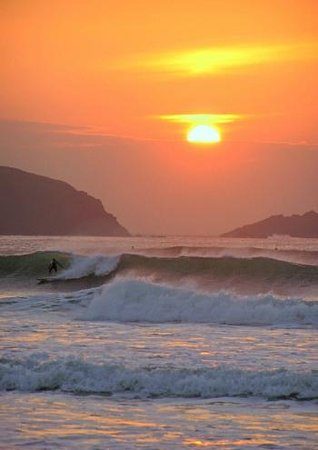 Fistral Beach at Sunset