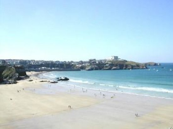 Playa Fistral: Newquay's sandy beach