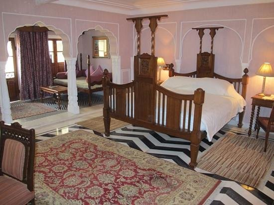 Samode Haveli : we loved our room but dont expect 5* mod cons