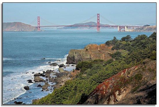 San Francisco Bay: The Golden Gate Bridge