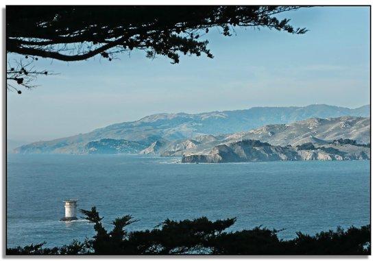 San Francisco Bay: Looking at the Marin Headlands