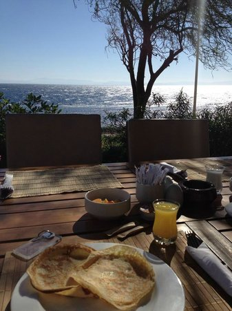 Dahab Paradise: The view at breakfast!