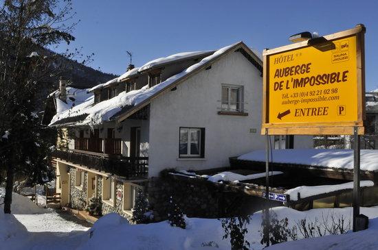 Auberge de l'Impossible: L'Auberge sous la neige