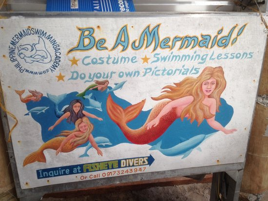 Boracay, Filippinene: Be a mermaid