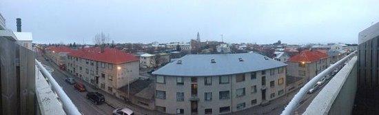 Fosshotel Raudara: Balcony Panoramic