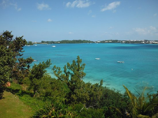 Grotto Bay Beach Resort & Spa: The view from our room
