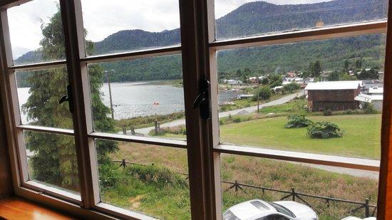 Casa Ludwig: Vista desde Desayunador