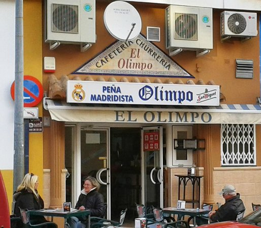 Estepona, Spain: Bar Olimpo