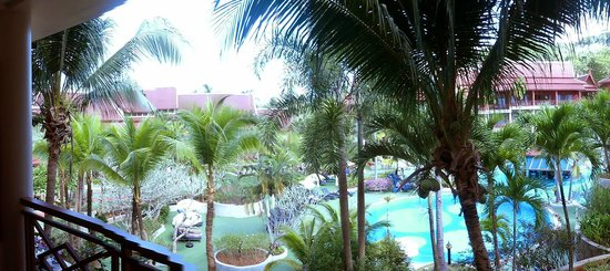 Krabi Thai Village Resort: view from balcony