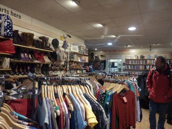 Camden Market: Inside Hearth Research charity shop