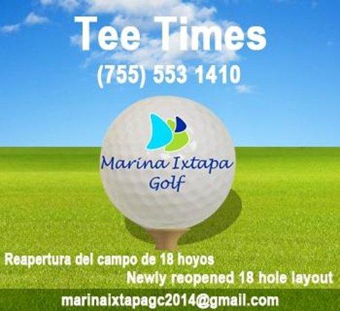 Marina Ixtapa Golf Club : Marina Ixtapa GC Tee Times