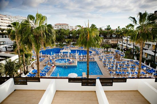 Iberostar Las Dalias : Вид из номера на территорию отеля