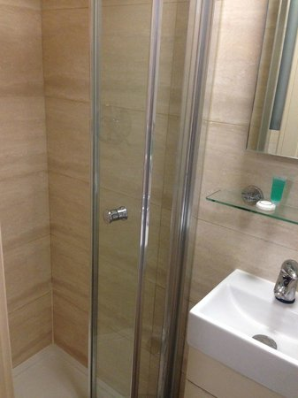 Pembury Hotel: Shower and sink