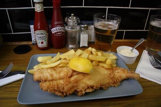 Baileys Fish and Chips: fish and chips