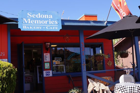 Sedona Memories : Great place to eat off the main drag