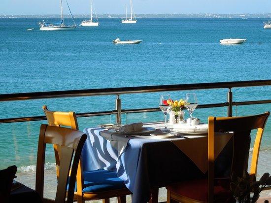 Le Tastevin: vue on Anguilla chanel