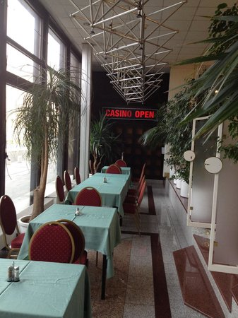 Olympik Hotel Prague: Ingresso al casinò