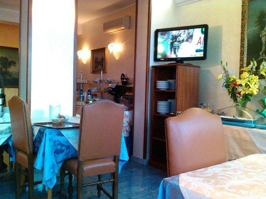 Hotel Rimini: Restaurante