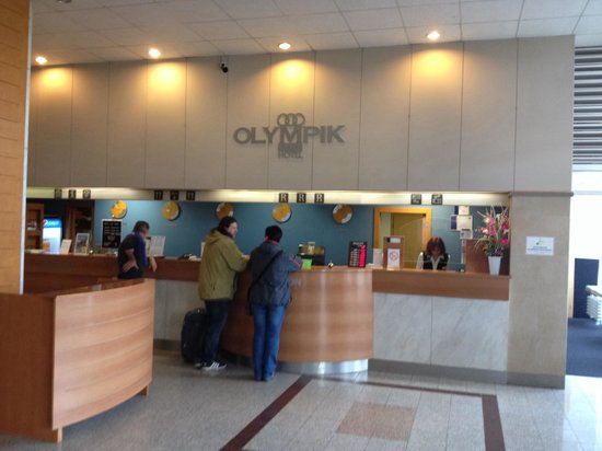 Olympik Hotel Prague: Reception