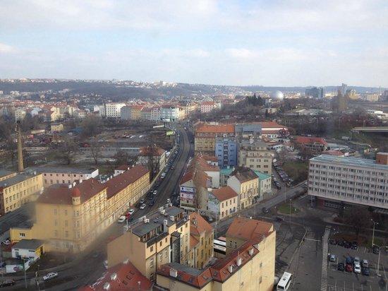 Olympik Hotel Prague: Visuale dal 18* piano