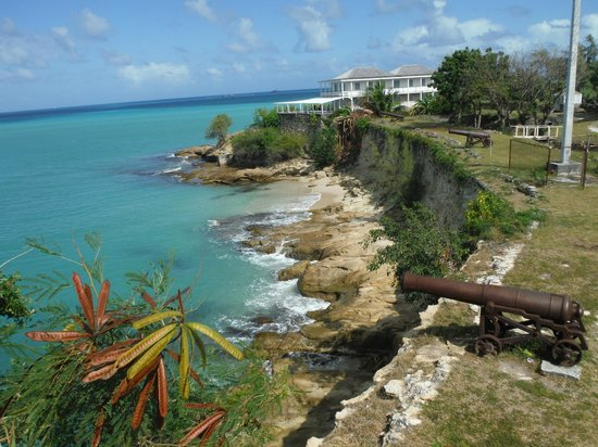 Segway Antigua Tours : View off Fort James