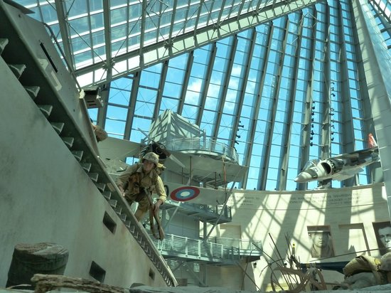 National Museum of the Marine Corps : Atrium
