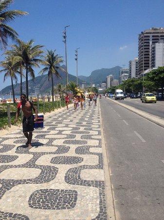 Hotel Ipanema Inn: calçada ipanema.. para correr al atardecer