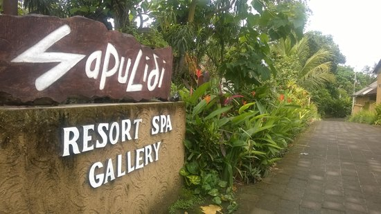 Sapulidi Bali Resort & Spa: entrance
