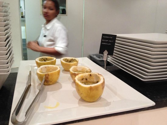 Ipanema Inn: Desayuno maracuya!