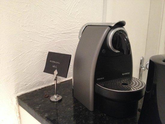 Ipanema Inn : Desayuno nespresso.. te cobraban R$6.