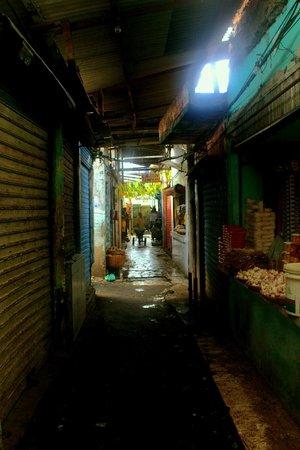 Sao Joaquim market : Uma das vielas do labirinto