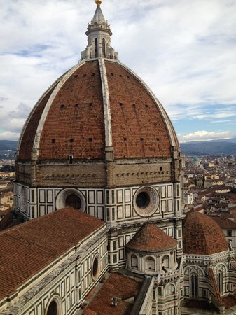 Le Duomo, Cathédrale Santa Maria del Fiore : O topo da cúpula !