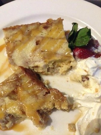 Le Meridien Dallas by the Galleria: Bread Pudding