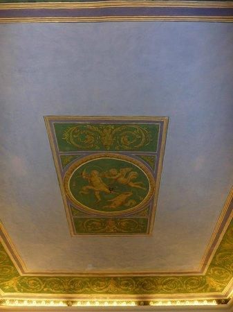 Hotel Palazzo Sitano: beautiful ceiling