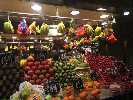 Santa Caterina's Market : Fruchtmarkt