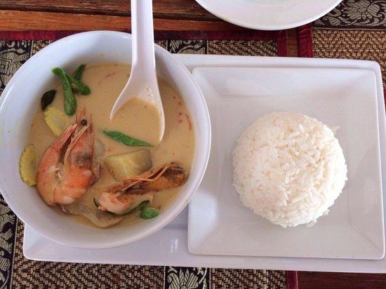 Red Duck Restaurant: Это самый вкусный Grin Kari sup , который я ел на Пхукете!