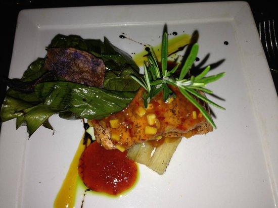 Selva Grill : Salmon dinner