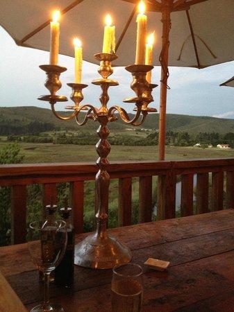 Emily Moon River Lodge: Last dinner!