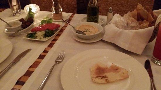 Arabia: Menu degustação