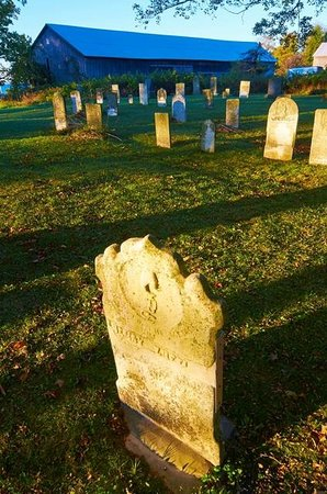 By Chadsey's Cairns Winery and Vineyard : Chadsey cemetery: history in stone