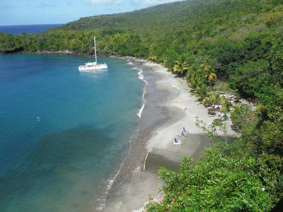 Serenity Vacations and Tours: A view of the Anse Cochon Bay