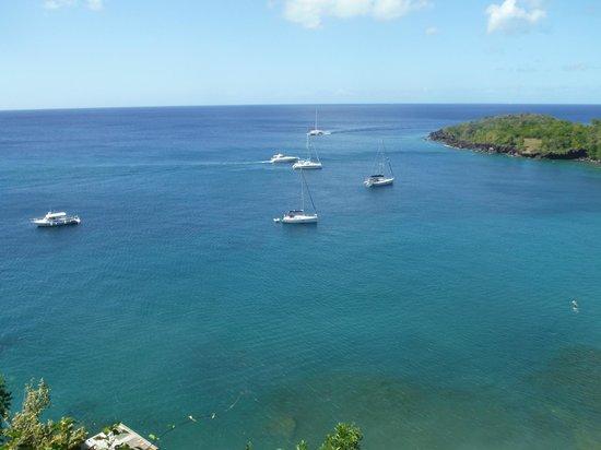 Serenity Vacations and Tours: Anse Cochon Bay from Ti Kaye Village