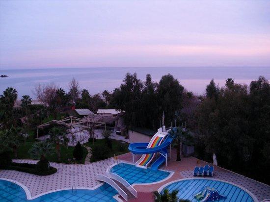 Lycus Beach Hotel: Blick vom Zimmer