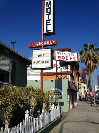 Wilshire Motel: Old school charm in West LA!