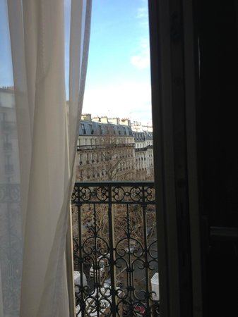 Grand Hotel Francais : View from 5th floor corner room.
