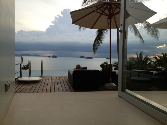 Villa Beige: terrace