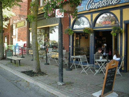 Canalside Restaurant Inn Kitchen Store