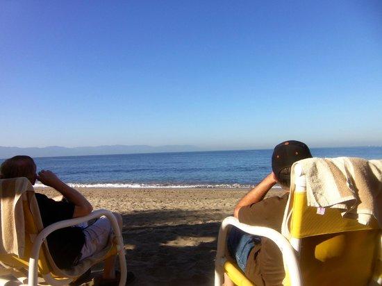 Crown Paradise Golden Resort Puerto Vallarta: View from the cabana