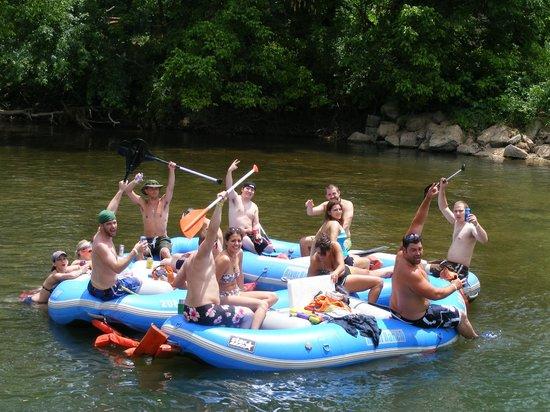 Noel, Missouri: raft group